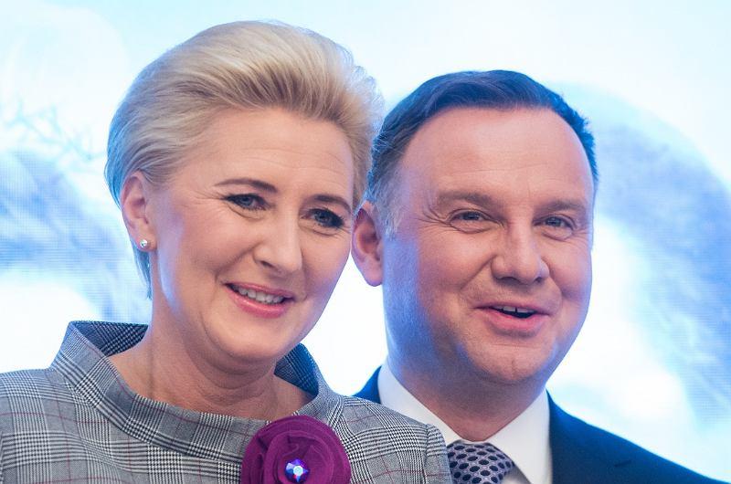 Andrzej i Agata Dudowie