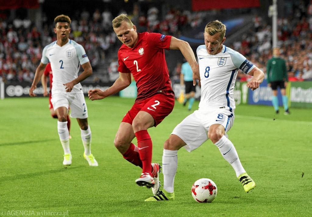 Mecz Polska - Anglia w Kielcach podczas zeszłorocznych mistrzostw Europy