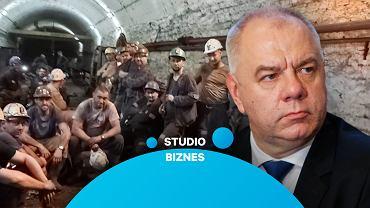 """Protest górników. Kolorz o rządowym programie: """"Zostałoby nam w 2033 roku na Śląsku półtorej kopalni"""""""