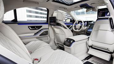 Wnętrze Mercedesa klasy S