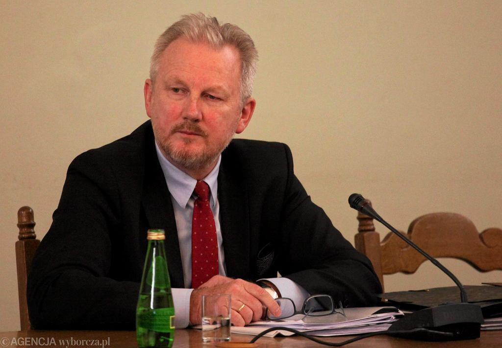 Były wiceszef KNF Wojciech Kwaśniak