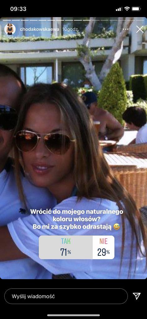Ewa Chodakowska na wakacjach.