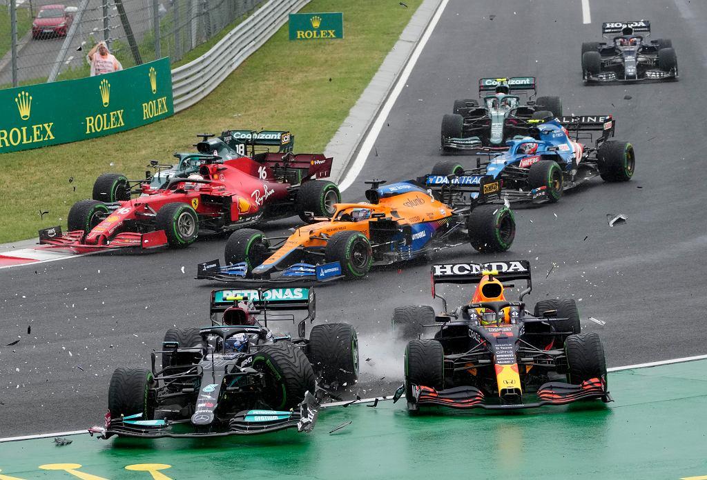 APTOPIX Hungary F1 GP Auto Racing