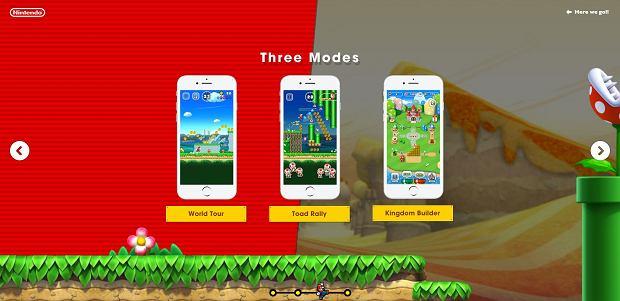 Super Mario Run - tryby rozgrywki
