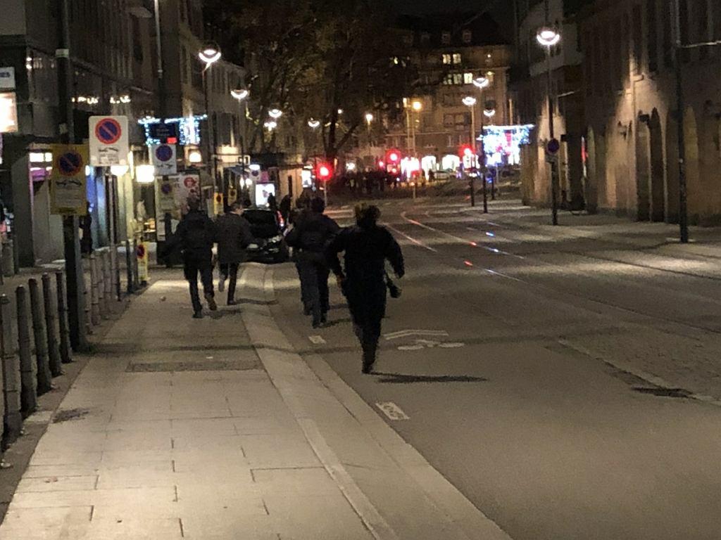 Strzelanina w centrum Strasburga