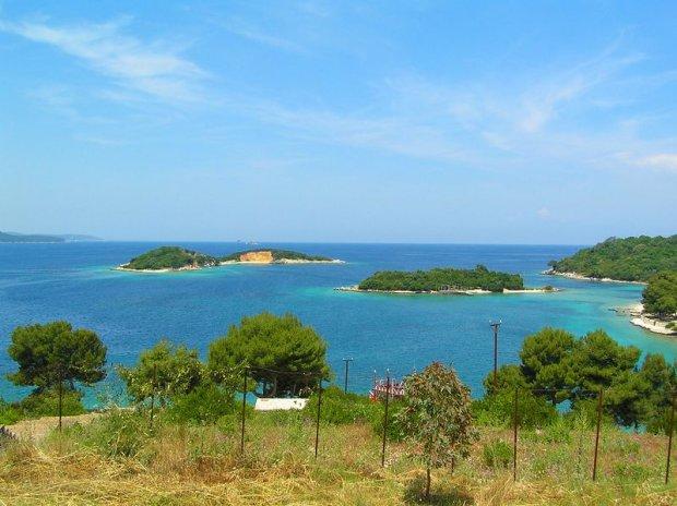 Wyspy przy Ksamilu, Albania