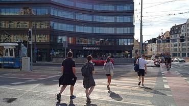 Nowe przejście dla pieszych przez ul. Skargi