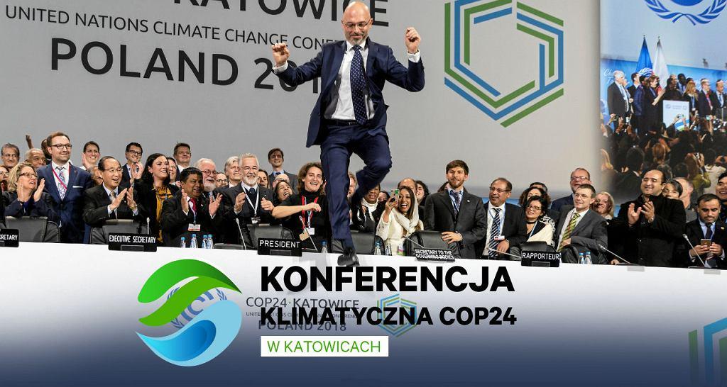 Zakończenie szczytu klimatycznego COP24 w Katowicach