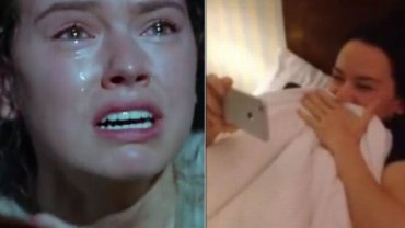 Daisy Ridley jako Rey i reakcja aktorki na zwiastun produkcji