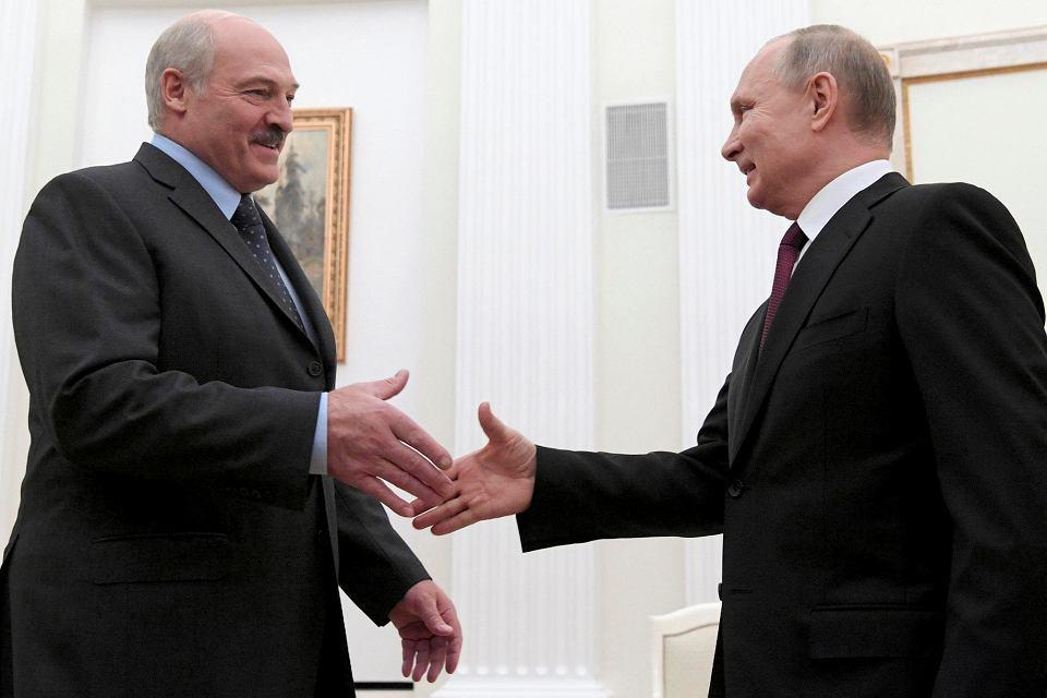 29.12.2018, Moskwa, spotkanie Władymir Putin - Aleksandr Łukaszenka na Kremlu.
