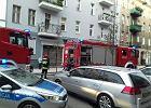 Tragiczny pożar w oficynie w centrum Szczecina. Nie żyją trzy osoby, dwie inne są poszkodowane