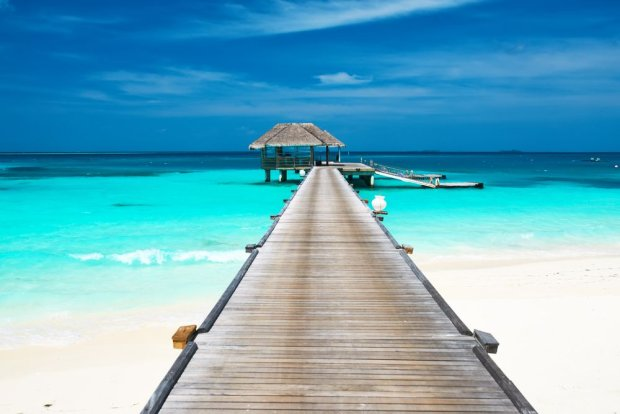 Bungalow na wodzie/ Fot. Shutterstock