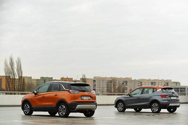Opel Crossland X 1.2 Turbo vs. Seat Arona 1.0 TSI