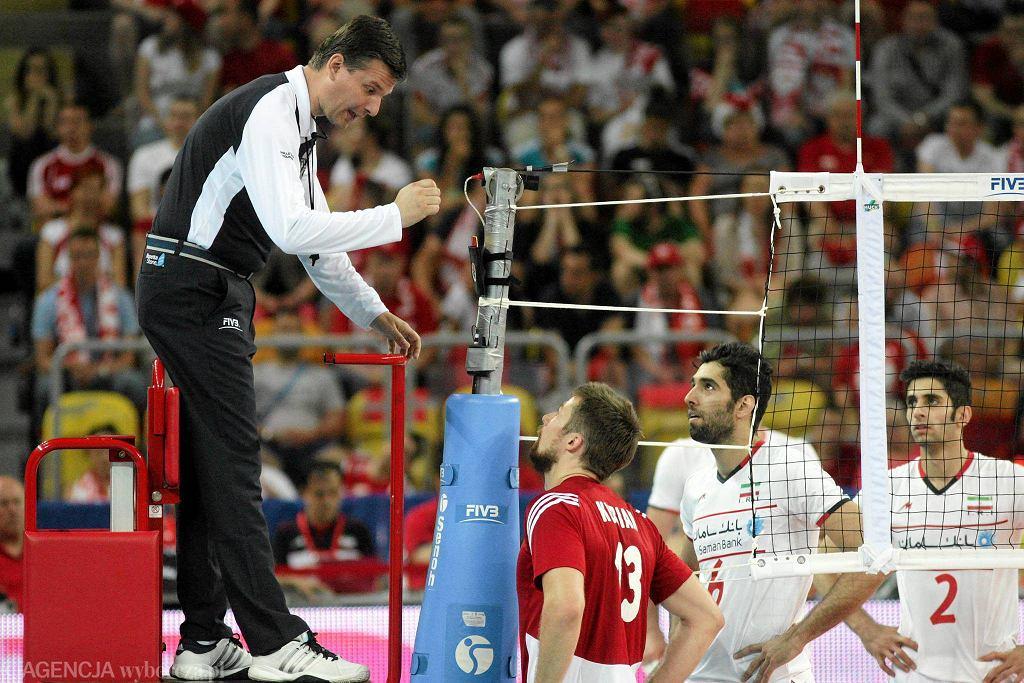 Hala Sportowa Częstochowa, mecz Polska - Iran 3:2