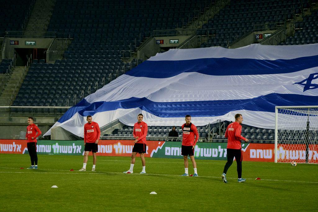 Trening reprezentacji Polski przed meczem z Izraelem