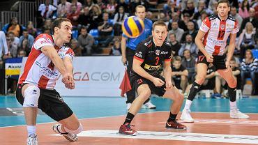 Michał Żurek (nr 3) jeszcze w barwach Asseco Resovii