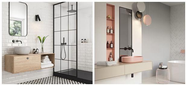 Nowoczesne łazienki Płytki Meble Aranżacje Inspiracje