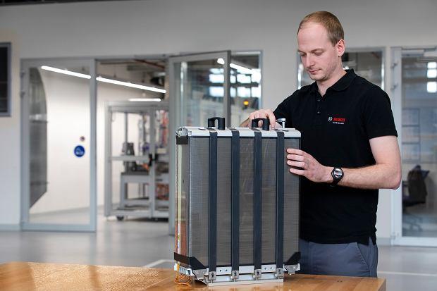Bosch - ogniwa paliwowe dla motoryzacji