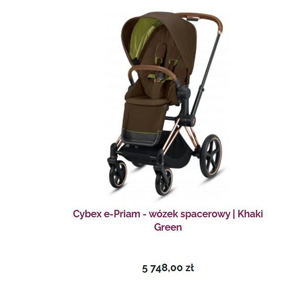 wózek marki Cybex