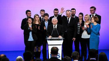 Jarosław Kaczyński po ogłoszeniu wyników II tury wyborów samorządowych