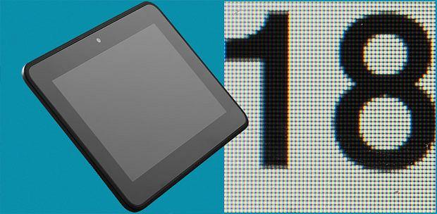 tablet, apple, android, Przegląd małych tabletów, Tablet Kindle Fire HD