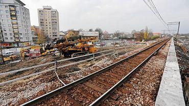 Budowa łącznicy kolejowej na Zabłociu
