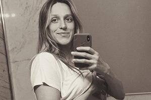 Aleksandra Żebrowska na zdjęciu bez bielizny w zaawansowanej ciąży. Internauci gratulują odwagi: Brawo