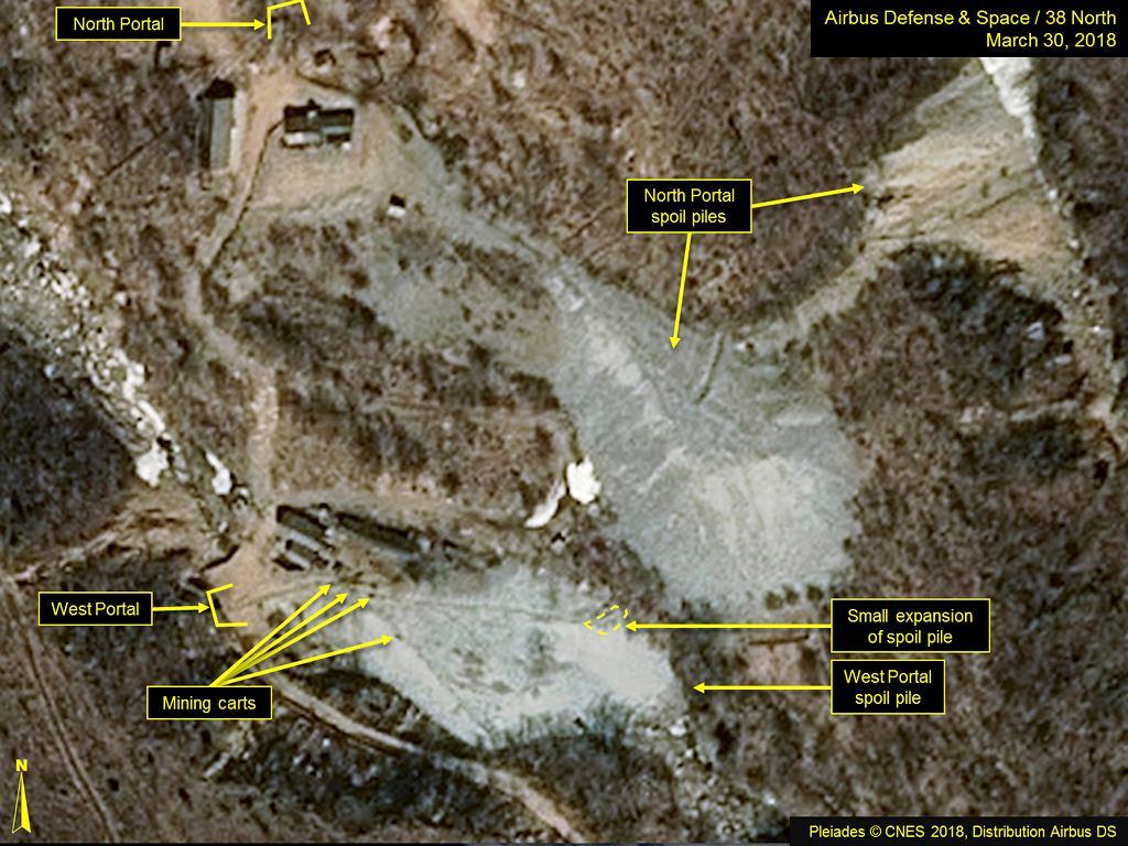 Poligon testów jądrowych Korei Północnej Punggye-ri