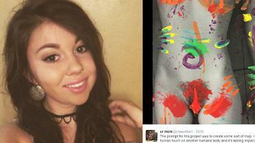 19-letnia studentka Emma Krezner stworzyła niecodzienną mapę ciała