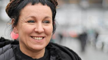 Olga Tokarczuk w Sztokholmie