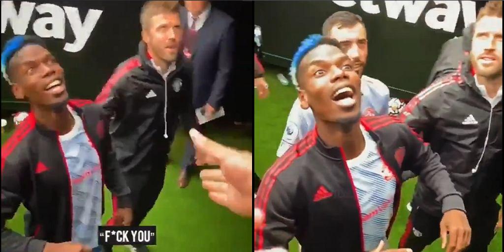 Paul Pogba drwi z fanów West Hamu United
