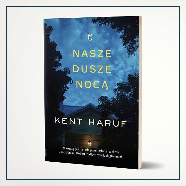 Okładka książki 'Nasze dusze nocą', Kent Haruf