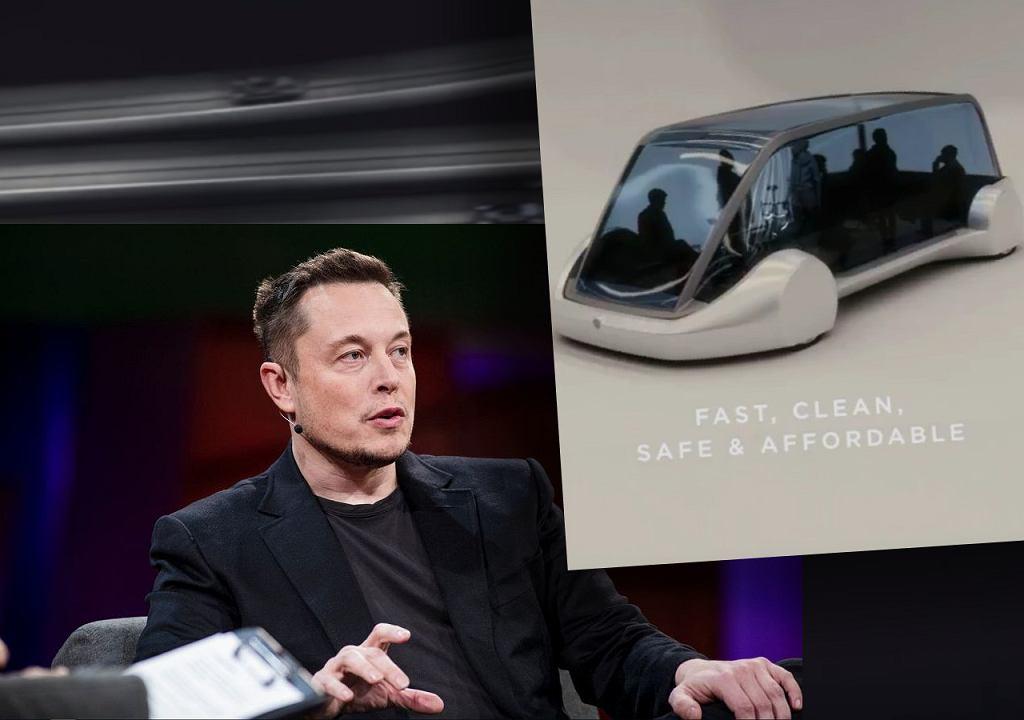 Elon Musk obiecuje nowy system komunikacji miejskiej