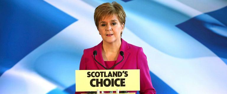 """Premierka Szkocji chce referendum ws. niepodległości. """"Szkoci przemówili"""""""