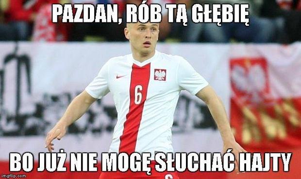 Zdjęcie numer 0 w galerii - Euro 2016. Ukraina - Polska. Pazdan, rób głębię! Błaszczykowski królem, Lewandowski uradowany [MEMY]