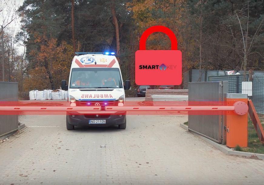 Olsztyn. Aplikacja otworzy ratownikom medycznym każdy szlaban w mieście