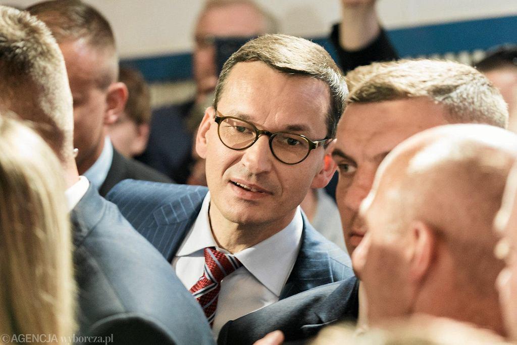 Premier Mateusz Morawiecki w Lublinie