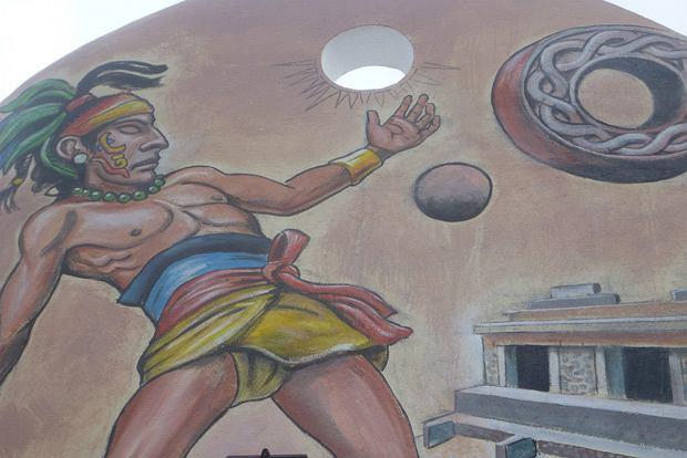 Podróż po Jukatanie: tequila, piramidy i nurkowanie, ameryka północna, podróże, Ulama - antyczna gra w piłkę - Majów i współczesnych Meksykanów