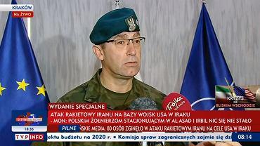 Generał dywizji Tomasz Piotrowski