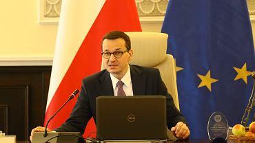 Premier Mateusz Morawiecki przewodniczy posiedzeniu Rady Ministrów, 5.03.2019