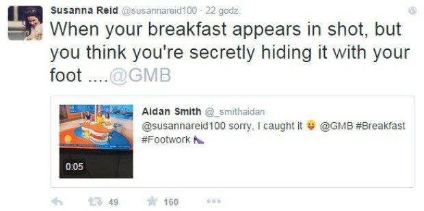 Susanna Reid komentuje swoją wpadkę na Twitterze