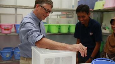 Zdjęcie, które Bill Gates umieścił na Reddicie