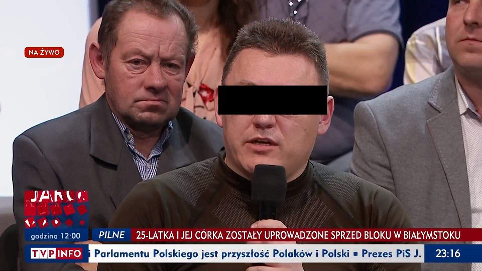 Marek M. w programie 'Studio Polska' w sobotę 9 marca 2019 r.