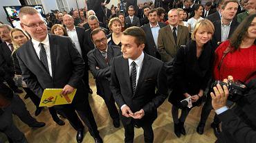 Piotr Guział w sztabie referendalnym