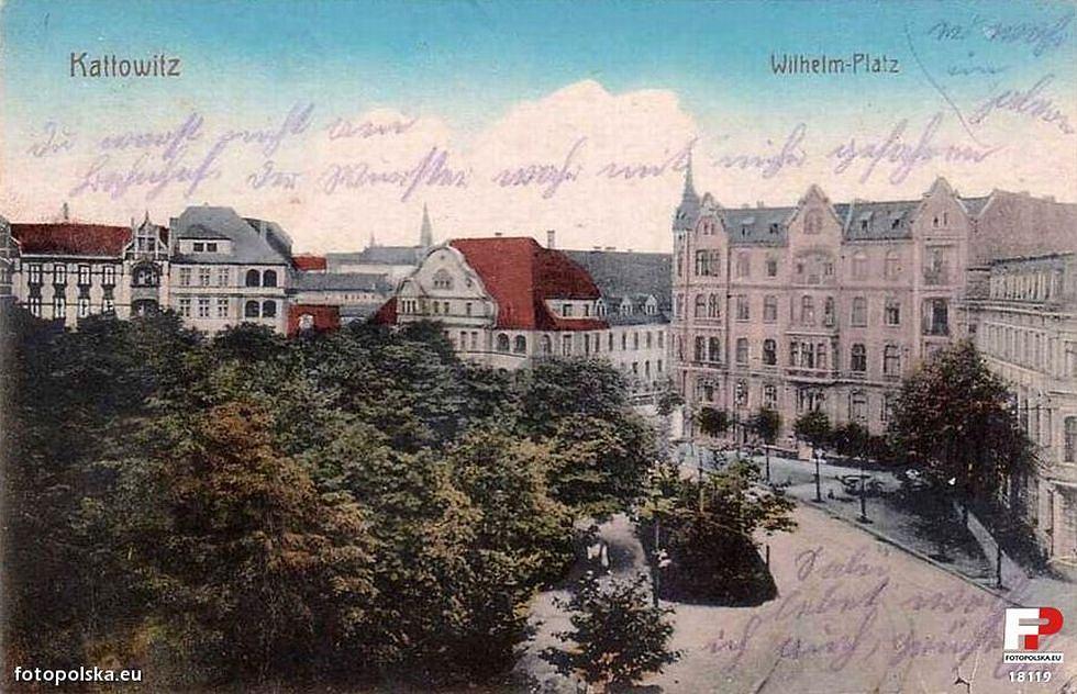Dawny Wilhelmsplatz w Katowicach.