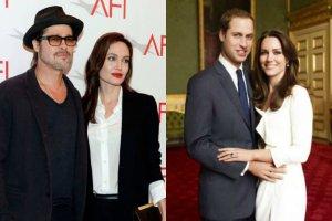 Brad Pitt i Angelina Jolie, książę William i księżna Kate