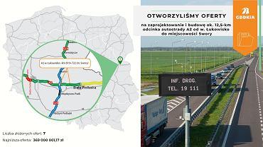 Autostrada A2 Łukowisko - Swory