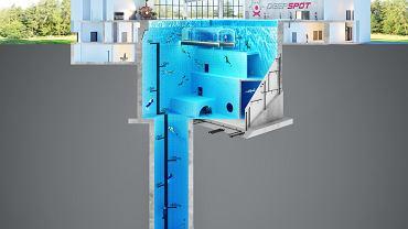 Powstający w Mszczonowie Deepspot będzie najgłębszym i najnowocześniejszym basen nurkowym na świecie