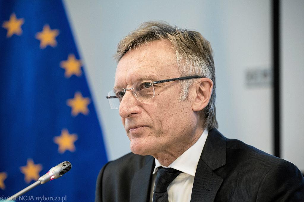 Marek Prawda, szef Przedstawicielstwa Komisji Europejskiej w Polsce