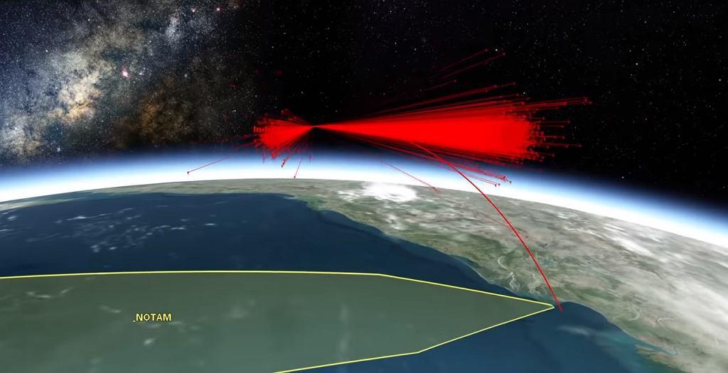 Efekt zestrzelenia indyjskiego satelity